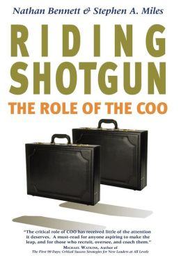 Riding Shotgun: The Role of the COO