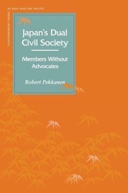 Japan's Dual Civil Society: Members Without Advocates