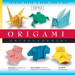 Origami Extravaganza! Folding Paper, a Book, and a Box: [Boxed Kit with 162 Folding Papers & Full-Color Book]