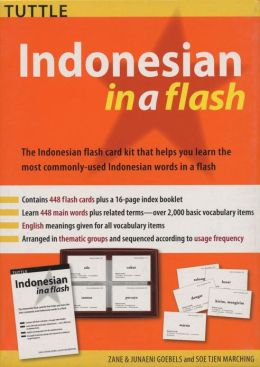 Indonesian in a Flash Kit Volume 1