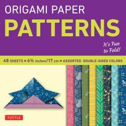 Origami Paper Pattern 6 3/4