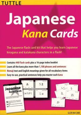 Japanese Kana Cards Kit