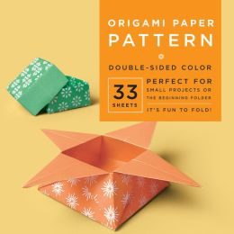 Origami Paper Pattern 6 3/4