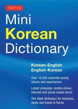 Tuttle Mini Korean Dictionary: Korean-English English-Korean