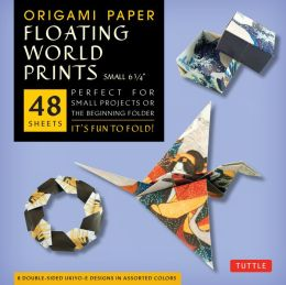 Origami Paper Floating World Prints Small 6 3/4