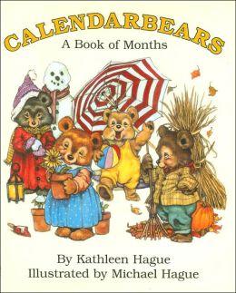 Calendarbears: A Book of Months