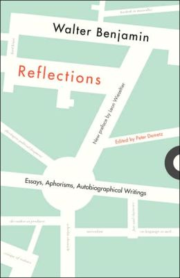 Reflections; Essays, Aphorisms, Autobiographical Writings
