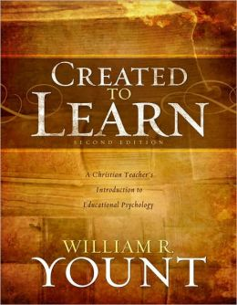 Created to Learn: A Christian Teacherr}ÑP