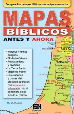 Mapas Biblicos Antes y Ahora