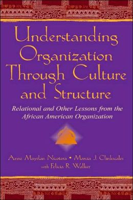 Understanding Organizations Through Culture and Structure: Relational and Other Lessons from the African-American Organization (Communication Series)