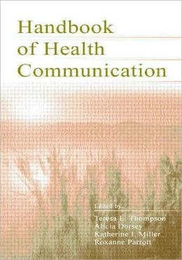 Handbook of Health Communication