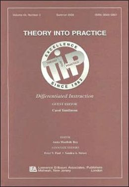 Differentiated Instruction A Special Issue of theory Into Practice