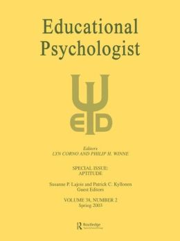Aptitude: A Special Issue of Educational Psychologist