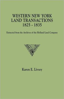 Western New York Land Transactions, 1825-1835