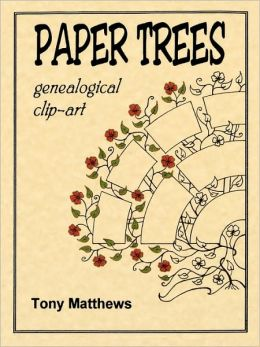 Paper Trees. Genealogical Clip-Art
