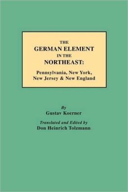 The German Element In The Northeast