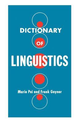 Dictionary of Linguistics