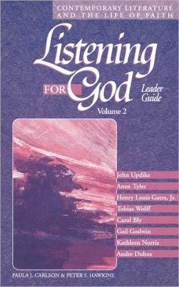 Listening For God Ldr Vol 2