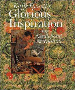 Kaffe Fassett's Glorious Inspiration for Needlepoint & Knitting