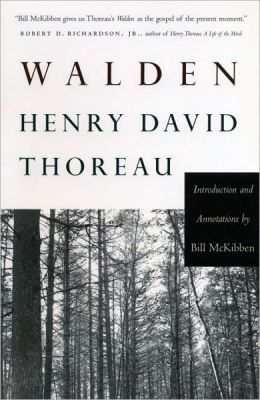 an examination of the book walden by henry david thoreau Though not a professional philosopher, henry david thoreau is recognized as  an  he pursued a close examination of local fauna and kept detailed records of  his  to revise walden it appeared in 1854, the second and last book thoreau.