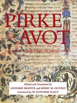 Pirke Avot: A Modern Commentary on Jewish Ethics