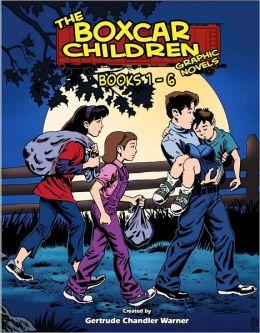 The Boxcar Children Graphic Novels Boxed Set: Books #1-6