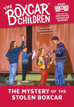 The Mystery of the Stolen Boxcar (The Boxcar Children Series #49)