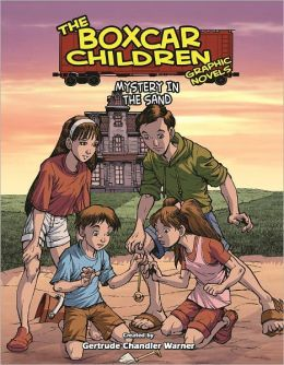 Mystery in the Sand (The Boxcar Children Graphic Novels Series #18)