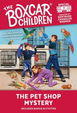The Pet Shop Mystery (The Boxcar Children Special Series # 7)