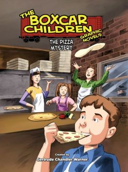 The Pizza Mystery (The Boxcar Children Graphic Novels Series #11)