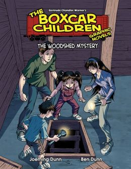 The Woodshed Mystery (The Boxcar Children Graphic Novels Series #13)