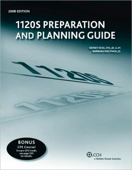 1120s Preparation and Planning Guide