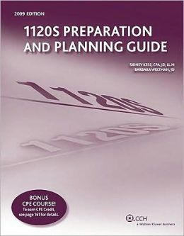 1120s Preparation and Planning Guide (2009)