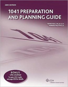1041 Preparation and Planning Guide (2009)