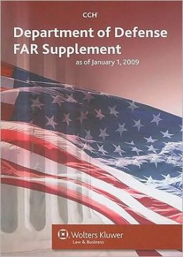 Department of Defense FAR Supplement (DFARS) as of January 1, 2009