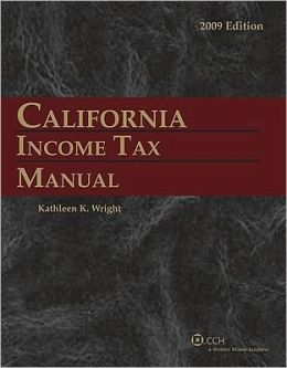 California Income Tax Manual (2009)