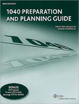 1040 Preparation and planning (guide 2010 Edition)