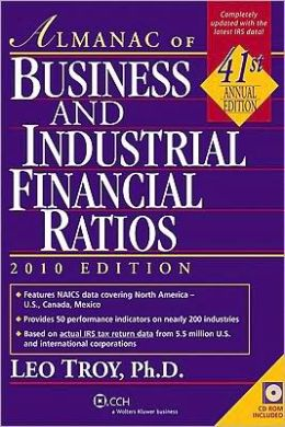 Almanac of Business and Industril Financial Ratios