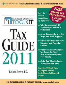 Toolkit Tax Guide 2011