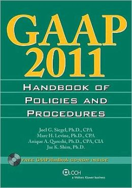 GAAP 2011 Handbook of Policies and Procedures