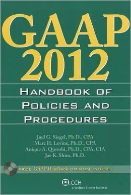 GAAP Handbook of Policies and Procedures 2012