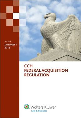 Federal Acquisition Regulation (Far) as of 01/2012