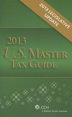 U. S. Master Tax Guide Legislative Update Pamphlet