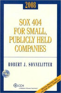 smaller public companies and sox The impact of sox on smaller public companies, including companies going  private or  sox is not the first legislation concerned with corporate governance.
