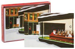 Hopper Santa Café Christmas Boxed Cards