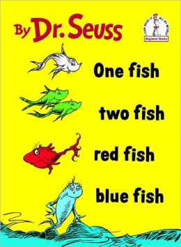 One Fish, Two Fish, Red Fish, Blue Fish (Turtleback School & Library Binding Edition)