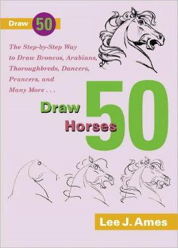 Draw 50 Horses (Turtleback School & Library Binding Edition)