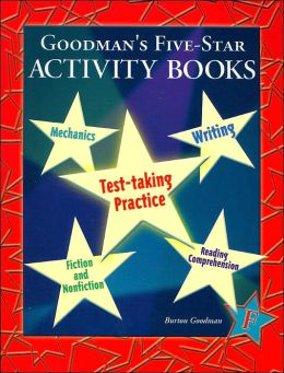 Goodman's Five-Star Activity Books: Level F (Test-Taker Practice Series)