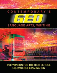 GED Language Arts, Writing (Contemporary's GED Satellite Series)