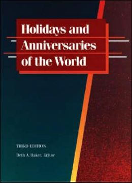 Holidays and Anniversaries of the World